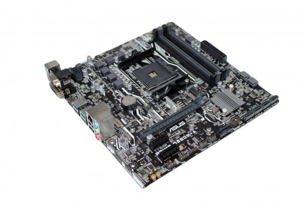 ASUS Prime B350M-A AMD B350 Mainboard Micro ATX Sockel AM4