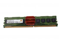 1GB Qimonda HYS72T128020HFD Server-RAM ECC PC2-4200F...